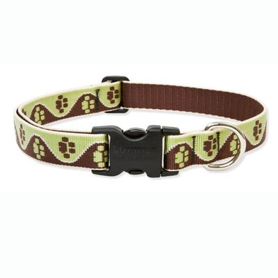 Dog Collar Adjustable Nylon Mud Puppy Lupine 12-20