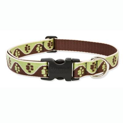 Dog Collar Adjustable Nylon Mud Puppy Lupine 16-28