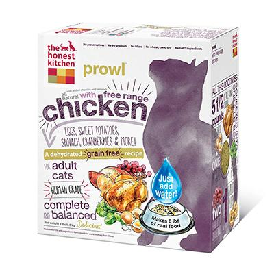 The Honest Kitchen Prowl 2 lb Dehydrated RAW Cat Food