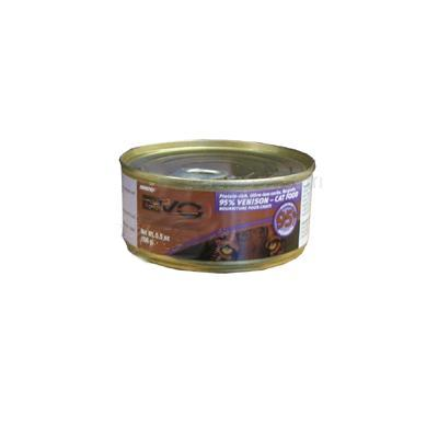 Evo 95% Venison 5.5 oz Canned Cat Food Each