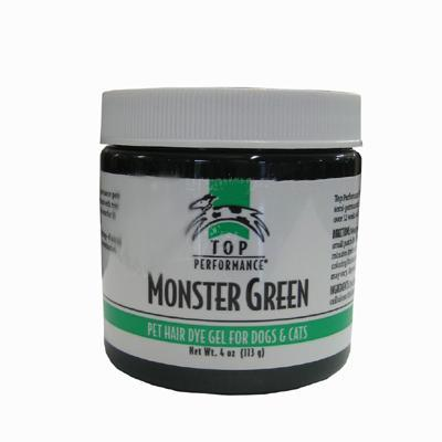 Top Performance Pet Hair Dye Gel Monster Green