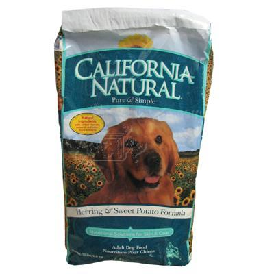 California Natural Herring and Sweet Potato Dog Food 15lb