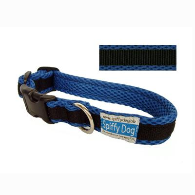 Spiffy Dog Small Blue Black Air Collar for Dogs