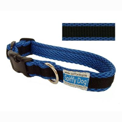 Spiffy Dog Large Blue Black Air Collar for Dogs