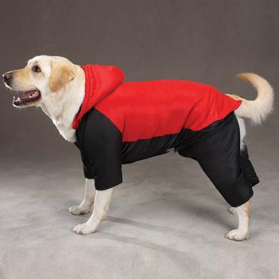 Cozy Casual Canine Snowsuit Red Medium