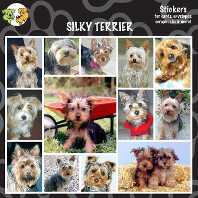 Arf Art Dog Sticker Pack Silky Terrier