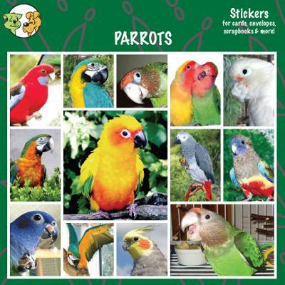 Arf Art Dog Sticker Pack Parrots