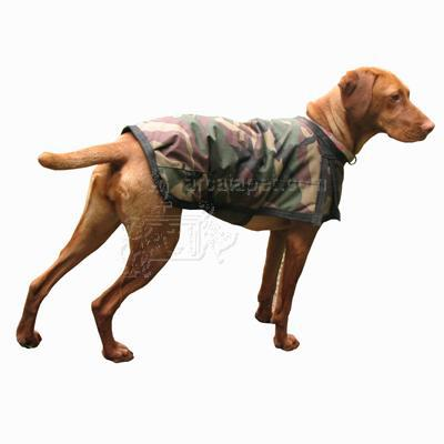 Winter Dog Blanket Coat Camo Small