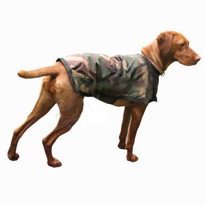 Winter Dog Blanket Coat Camo Xlg