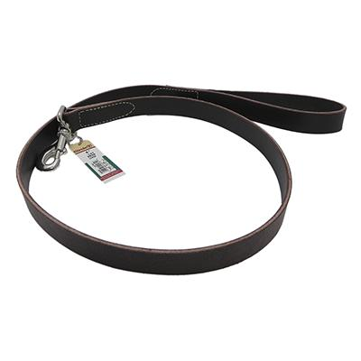 Circle T Leather Dog Leash 4 foot 1 inch wide