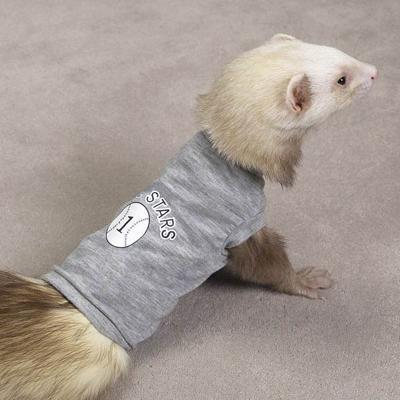 Biddie Buddies Ferret Tee Grey Medium