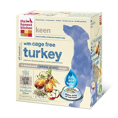 Honest Kitchen Keen Dehydrated RAW Dog Food 4 lb