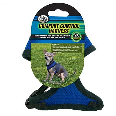 Comfort Control Dog Harness Blue XSmall