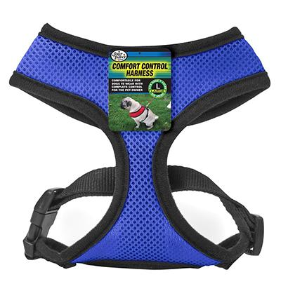 Comfort Control Dog Harness Blue Large