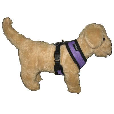 Comfort Control Dog Harness Purple Medium