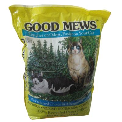 Good Mews Cat Recycled Paper Litter 8 lb