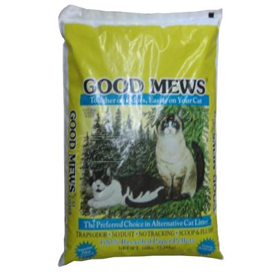 Good Mews Recycled Paper Cat Litter 16 lb