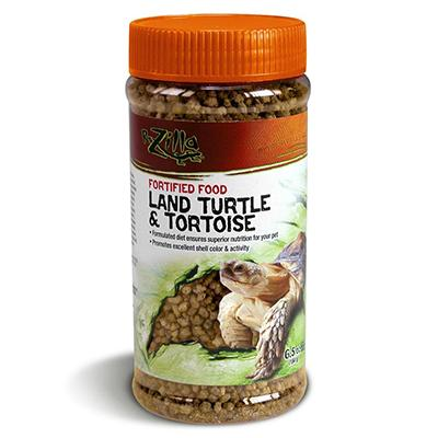 Zilla Land Turtle and Tortoise Food 6.5 oz