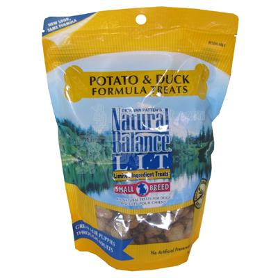 Natural Balance Duck and Potato Dog Treats Small Breed