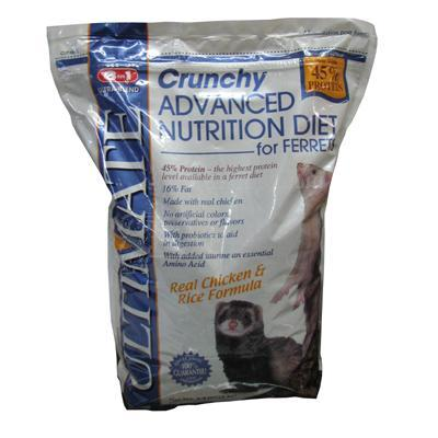 Ultimate Advance Nutrition Crunchy Ferret Diet 4.4lbs