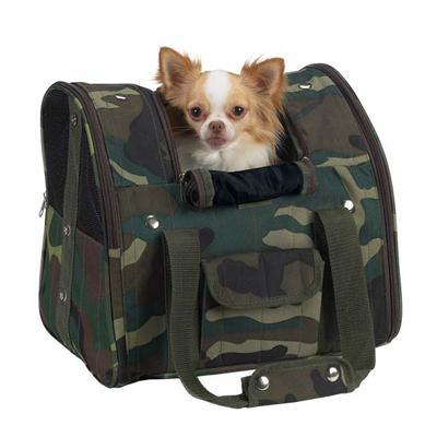 Casual Canine Backpack Camo Pet Carrier