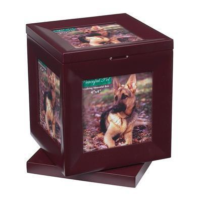 Peaceful Pet Revolving Memory Box