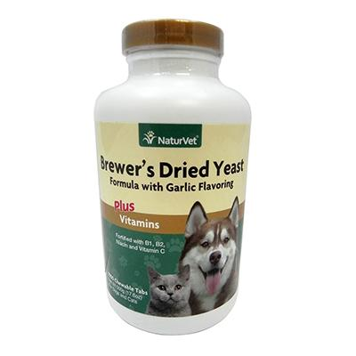 NaturVet Brewers Yeast/Garlic 500-Tab Dog and Cat Supplement