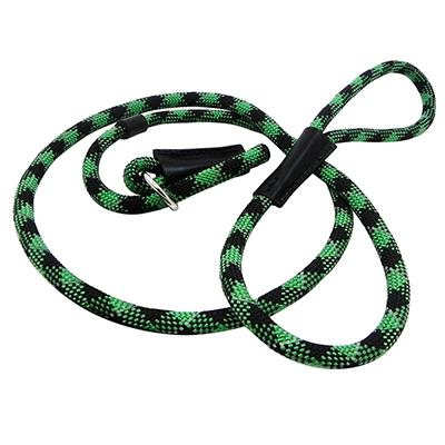Slip Dog Lead Reflective Green 6 ft.