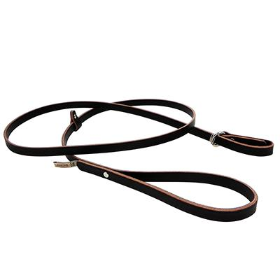 Leather Slip Lead 6ft. Flat Latigo