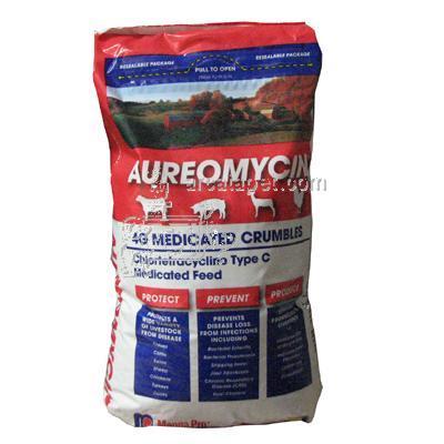 aureomycin medicated livestock