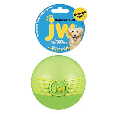 iSqueak Natural Rubber Ball Large Dog Toy