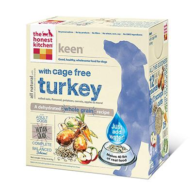 Honest Kitchen Keen Dehydrated RAW Dog Food 10 lb