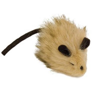 Play-N-Squeak Wooly Mouse Cat Toy