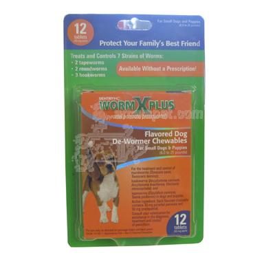 WormX Plus For Small Dogs and Puppies 12pk