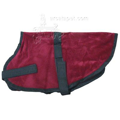 Pet Sense Doggie Coat Burgundy XSmall