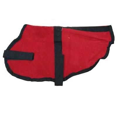Pet Sense Doggie Coat Red Small Long
