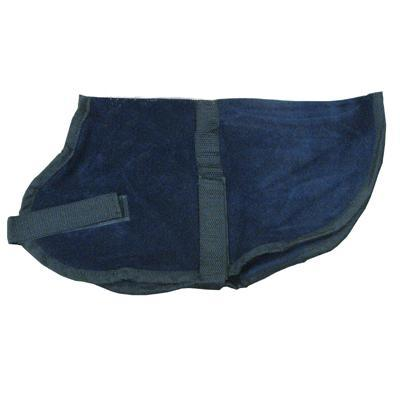 Pet Sense Doggie Coat Navy Small Long