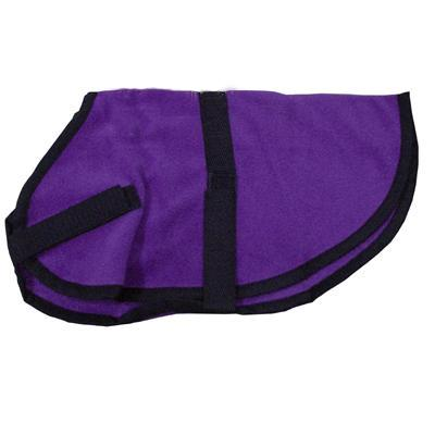 Pet Sense Doggie Coat Purple Small Long