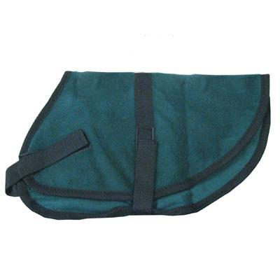 Pet Sense Doggie Coat Green Large Long
