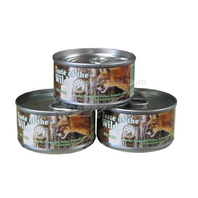 Taste of the Wild Rocky Mountain Canned Cat Food case