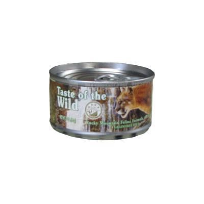 Taste of the Wild Rocky Mountain Canned Cat Food each