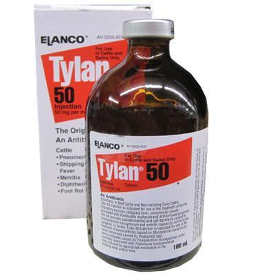 Tylan 50 100ml Injectible