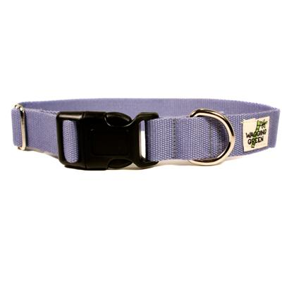 Bamboo Dog Collar Small in Lilac