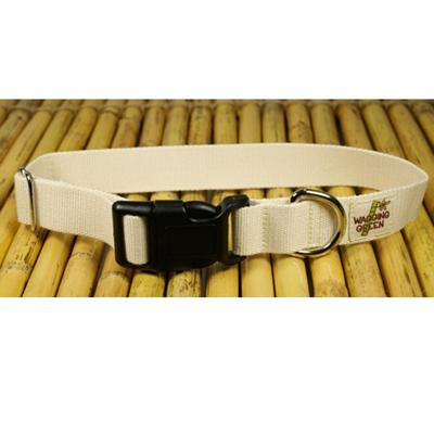 Bamboo Dog Collar Small in Natural Color