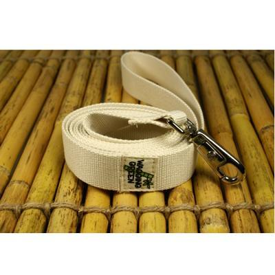 Bamboo Dog Leash 1-inch x 5-feet Natural Color
