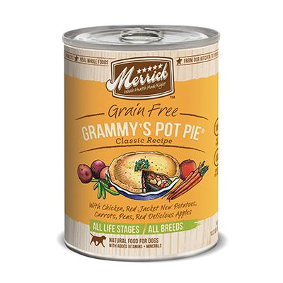 Merrick Grammie's Pot Pie Dog Food Case