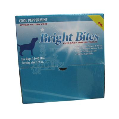 Bright Bites Peppermint Medium Case Dog Dental Treat