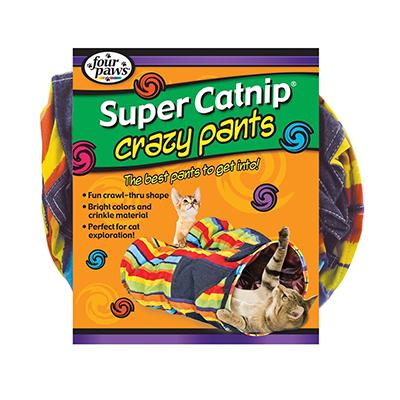 Super Catnip Crazy Pants Cat Tunnel