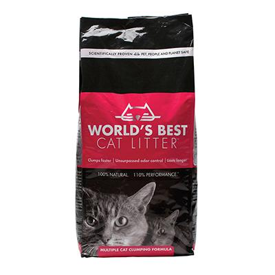 World's Best Cat Litter Multi Cat Formula 28 Lb