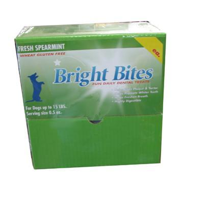 Bright Bites Spearmint Small Case Dog Dental Treat